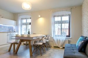 Apartment Nordkapp, Апартаменты  Вроцлав - big - 3