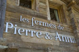 Les Fermes de Pierre et Anna, Отели  Ле-Гран-Борнан - big - 19