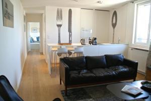 18 Crebillon, Apartmanok  Nantes - big - 5
