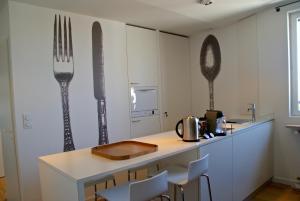 18 Crebillon, Ferienwohnungen  Nantes - big - 6