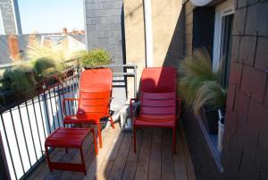 18 Crebillon, Ferienwohnungen  Nantes - big - 19