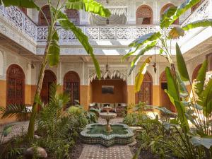 秘密花园摩洛哥传统庭院旅馆。 (Riad Jardin Secret)