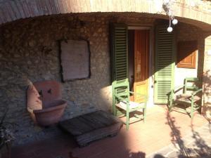 Il Roseto, Apartmanok  Tavarnelle in Val di Pesa - big - 9