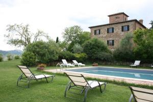 Villa Il Poggiarone, Виллы  Монтепульчано - big - 24