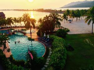 Langkawi Lagoon Resort Honeymoon Suite by De Lagoon, Üdülőközpontok  Kampung Padang Masirat - big - 133