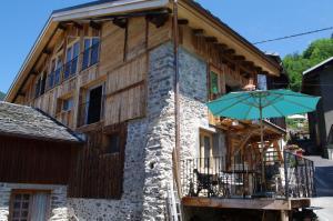 Appartement Dans Chalet de Montagne, Апартаменты  Bozel - big - 1