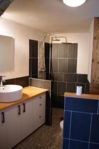 Appartement Dans Chalet de Montagne, Апартаменты  Bozel - big - 8