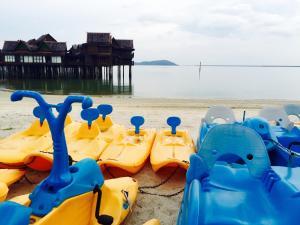 Langkawi Lagoon Resort Honeymoon Suite by De Lagoon, Üdülőközpontok  Kampung Padang Masirat - big - 119