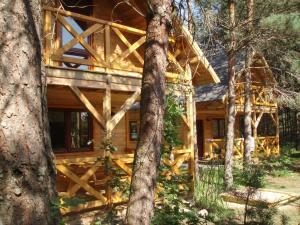 Leśny Zakątek, Lodge  Koscierzyna - big - 17