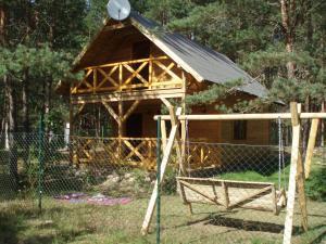 Leśny Zakątek, Lodge  Koscierzyna - big - 11