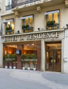 La Résidence, Hotely  Lyon - big - 49