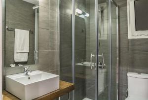 Sea View Aparthotel, Apartmanhotelek  Káto Daráco - big - 38