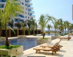 Morros Epic Cartagena, Apartmány  Cartagena de Indias - big - 14