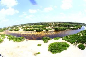 Pousada Rancho das Dunas, Kunyhók  Santo Amaro - big - 29