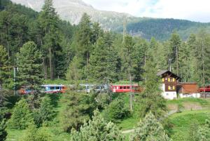 Chesa La Furia, Ferienwohnungen  Pontresina - big - 67