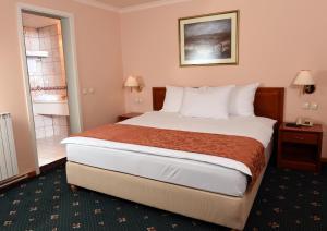 Hotel Glam, Отели  Скопье - big - 4