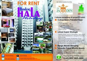 Bandung Hala Holiday at The Jardin Apartments