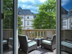 Pokój typu Deluxe z tarasem i widokiem na ogród