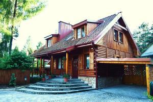 Mazury Drewniany Dom Malkinie k/Elku