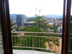 Beautiful View Of Sarajevo Center