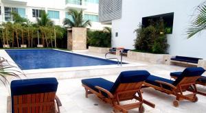 Morros Vitri Suites Frente al Mar, Appartamenti  Cartagena de Indias - big - 73