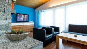 Haus Aristella, Apartments  Saas-Fee - big - 13