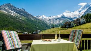 Haus Aristella, Apartments  Saas-Fee - big - 82