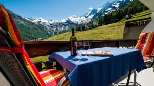 Haus Aristella, Apartments  Saas-Fee - big - 54