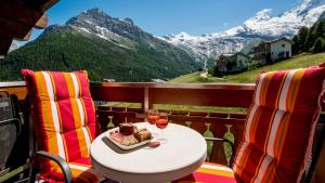 Haus Belle-Vue, Apartmány  Saas-Fee - big - 30