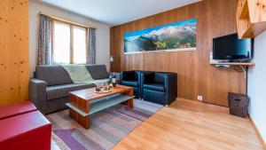Haus Belle-Vue, Apartmány  Saas-Fee - big - 18