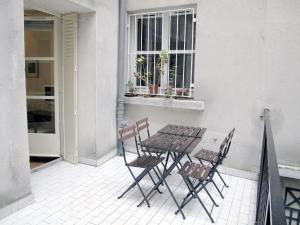 studio st germain terrasse