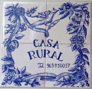 Casa Rural Montcabrer, Ferienhöfe  Agres - big - 22