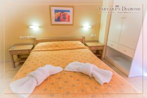 Varvaras Diamond Hotel, Apartmanhotelek  Platanész - big - 6