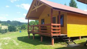 Domki w Zawozie nad Soliną, Horské chaty  Zawóz - big - 45