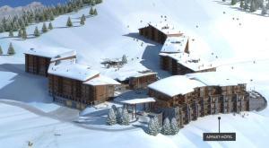 Appart'Hotel Odalys Prestige Eden, Aparthotels  Arc 1800 - big - 42