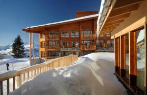 Appart'Hotel Odalys Prestige Eden, Aparthotels  Arc 1800 - big - 39