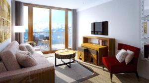 Appart'Hotel Odalys Prestige Eden, Aparthotels  Arc 1800 - big - 2