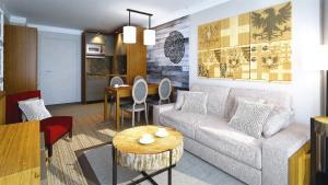 Appart'Hotel Odalys Prestige Eden, Aparthotels  Arc 1800 - big - 3
