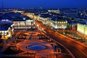 Vip-kvartira Leningradskaya 1A, Apartmanok  Minszk - big - 80