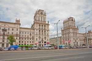 Vip-kvartira Leningradskaya 1A, Apartmanok  Minszk - big - 83
