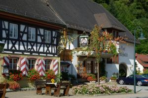 Schwarzwaldgasthof Hotel Schlossmühle, Отели  Глоттерталь - big - 32