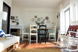 Casa Azul, Апартаменты  Назаре - big - 20