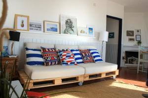 Casa Azul, Апартаменты  Назаре - big - 10