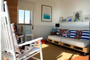 Casa Azul, Апартаменты  Назаре - big - 15