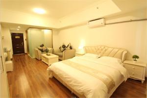 Foshan Keruisi Apartment (Nanhai Wanda SOHO Branch), Apartmány  Foshan - big - 16