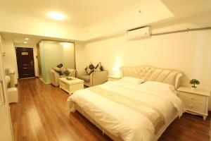 Foshan Keruisi Apartment (Nanhai Wanda SOHO Branch), Apartmány  Foshan - big - 8