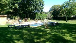 Terrasse et Jardin a Cajarc