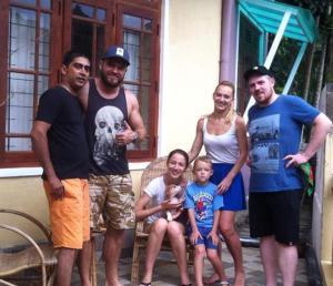 Relax Inn, Проживание в семье  Канди - big - 12