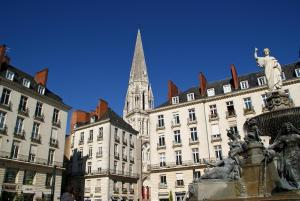 18 Crebillon, Ferienwohnungen  Nantes - big - 37