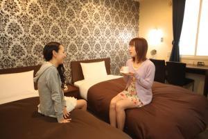 Frame Hotel Sapporo, Hotel low cost  Sapporo - big - 17